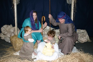 Nativity Family Portrait 2007